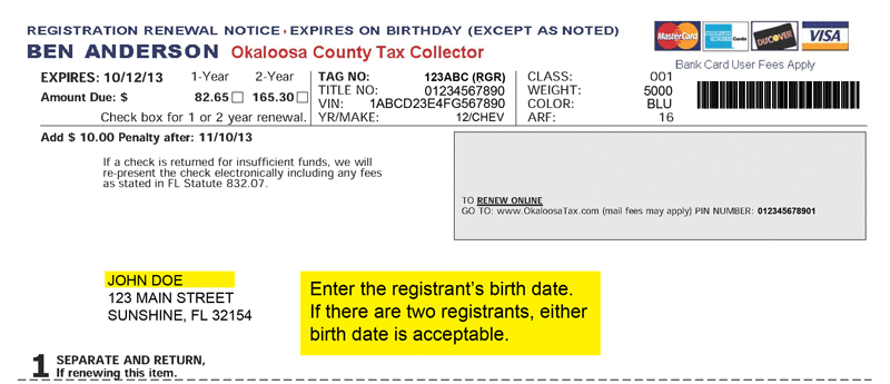 Where to Find Your Date of Birth